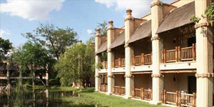 The Kingdom hotel in Victoria Falls