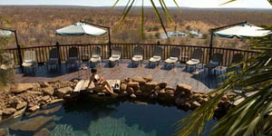 Vic Falls Safari Lodge Swimming Deck
